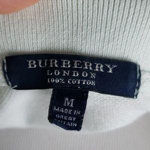 Burberry Tops - Burberry London Seafoam Green Piqued Polo